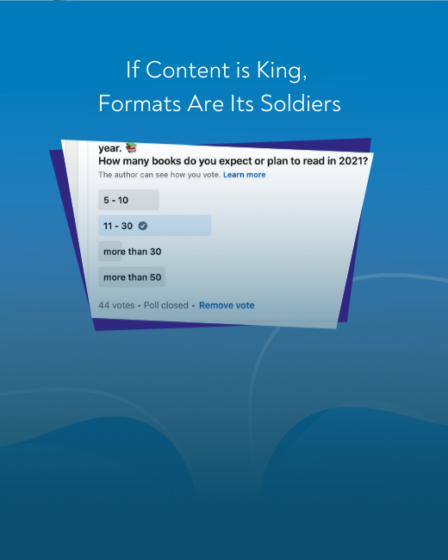 If content is king, formats are its soldiers