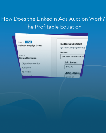 LinkedBlog article - Ads Auction