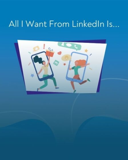 All I Want From LinkedIn Is...