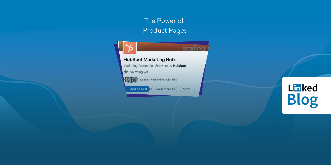 The Power of Product Pages